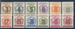 West Sachsen Michel No. 138 - 149 ** postfrisch
