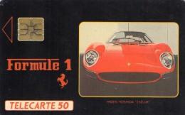 TELECARTE MONACO 50U  Ferrari Boutique F1  7 - Monaco