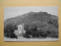 La Chapelle Et Le Château De La Punta Pozzo Di Borgo. - Ajaccio