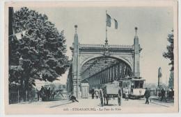 CPA STRASBOURG Le Pont Du Rhin - Strasbourg
