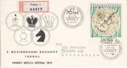 SCHACH-CHESS-ECHECS-SCACC HI, CSR/CSSR, 1975, Special Postmark !! - Scacchi