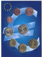 ** SERIE GRECE 2004 SOUS/EUROPOKET PIECES NEUVES ** - Greece
