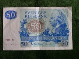 Suède - Sweden - 50 Kronor - 1979 - P53 - Suède