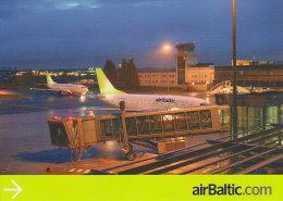 AIRBALTIC, Official Postcard (Summer 2007) - Publicidad