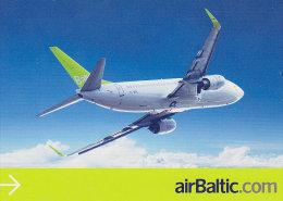 AIRBALTIC, Official Postcard (Summer 2008) - Publicidad