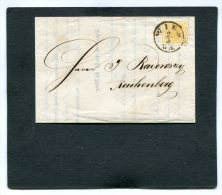 Austria Folded Letter Michelnr. 1 1853 - Storia Postale
