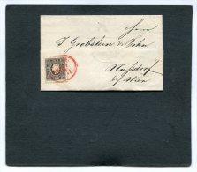 Austria Folded Letter Michelnr. 11 1859 - Storia Postale