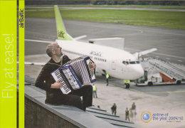 AIRBALTIC, Official Postcard (Winter 2009) - Publicidad