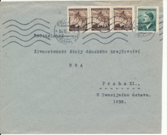 Germany Böhmen Und Mähren Cover Praha 26-3-1943 ?? - Germany