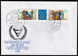DDR 1981 - Behinderungen, Jahr Der Geschädigten - Sonderstempel FDC - Handicaps