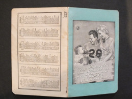 (3220) Calendrier  Union-vie 1950 - Calendars