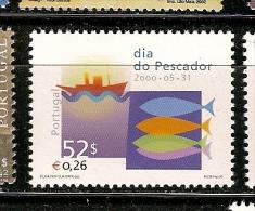 Portugal ** & Dia Do Pescador 2000 (2701) - Fabbriche E Imprese