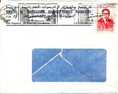 Morocco Cover Sent To Denmark Casablanca 3-2-1968 - Morocco (1956-...)