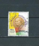 timbre oblit�re de madagascar 2014
