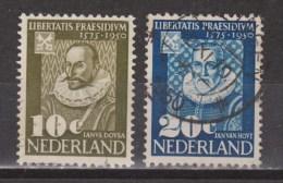 Nederland Netherlands Pays Bas Niederlande Holanda 561 562 Used ; 375 Jaar Leidse Universiteit 1950 ALSO PER PIECE - Oblitérés