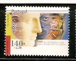 Portugal ** & Ano Da Nações Unidas Para O Diálogo Entre Civilizações 2001 (2815) - 1910-... République