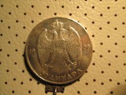KINGDOM Of YUGOSLAVIA 50 Dinara 1938 Silver 15.05 Gr - Yugoslavia