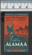FILM AFFICHE LOWLANDS ALAMAA TIEFLAND LENI RIEFENSTAHL MOVIES PICTURES CINEMA Finnish Matchbox Label - Zündholzschachteletiketten