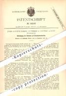 Original Patent -Jules A. Vautherin à Chateau De Rans , 1880 , Pièce Jointe Pour Voies Ferrées !!! - Autres Communes