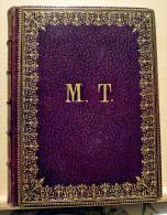 Religion,Missel,Enluminures,HEURES CHOISIES Des DAMES CHRÉTIENNES, Édition 1860, Relieur L.Lesort Paris. - Livres, BD, Revues