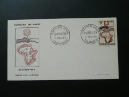 FDC cooperation 1964 Madagascar ref 63086
