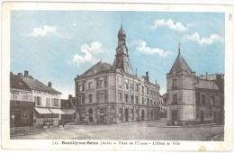 10 ROMILLY SUR SEINE Place De L'union L'hôtel De Ville - Romilly-sur-Seine