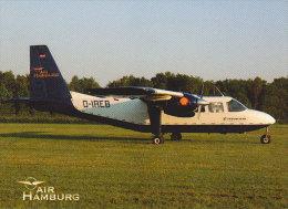 AIR HAMBURG. Islander Britten-Norman BN-2 - Aviación