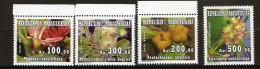 Madagascar 2010 n� 1900 / 3  ** Fleurs, Physena sessiliflora, Pentachlaena latifolia, Rhopalocarpus similis Hemsley