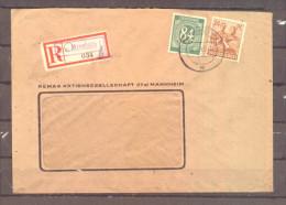 All Kontrollrat R-Bf Mit Not-R-Zettel Mannheim (10157)