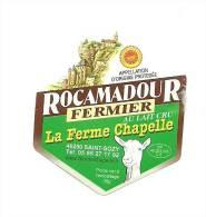 Rocamadour Fermier, Chèvre, La Ferme Chapelle,  Saint Sozy , 46 - Fromage