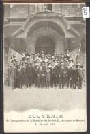 MOUTIER - SOUVENIR DE L'INAUGURATION DE LA BANNIERE DU DISTRICT II LE 18 AOUT 1912 - TB - BE Berne