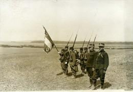 France Grandes Manoeuvres Militaires De L'Est Armee Officiers Ancienne Photo Meurisse 1911 - War, Military