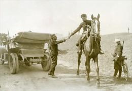 France Grandes Manoeuvres Militaires De L'Est Armee Automobile Ancienne Photo Meurisse 1911 - War, Military