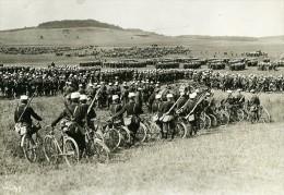 France Grandes Manoeuvres Militaires De L'Est Armee Troupes Ancienne Photo Meurisse 1911 - War, Military