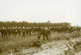 France Grandes Manoeuvres Militaires Du Poitou Troupes Ancienne Photo Meurisse 1912 - War, Military