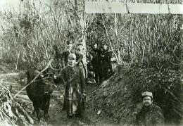 France WWI Front De Guerre Argonne Ravitaillement Des Troupes Ancienne Photo Meurisse 1918 - War, Military