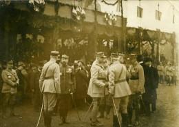 France Paris WWI Fete De L Armistice Groupe De Generaux Ancienne Photo 1918 - War, Military