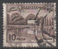 N° 182 O Y&T 1963-1970 Jardin De Shalimar à Lahore - Pakistan