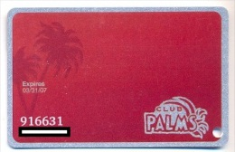 Palms Casino, Las Vegas  older used slot or player's card, palms-11