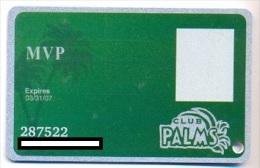 Palms Casino, Las Vegas  older used slot or player�s card, palms-14