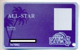 Palms Casino, Las Vegas  older used slot or player�s card, palms-15