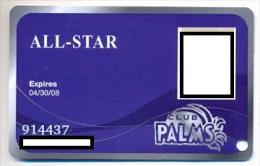 Palms Casino, Las Vegas  older used slot or player�s card, palms-16