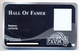 Palms Casino, Las Vegas  older used slot or player�s card, palms-18