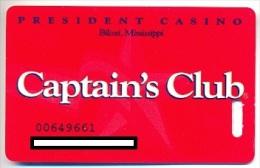President Casino, Las Vegas, NV, U.S.A.,  older used membership card, president-6