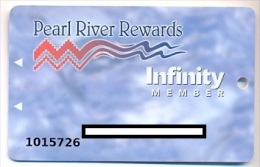 Pearl River Casino, Choctaw, MS, older used slot or player�s  card, pearlriver-3