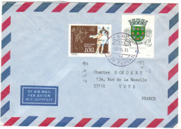 PORTOGALLO - PORTUGAL - MADEIRA - 1995 - Airmail - Europa + Funchal - Viaggiata Da Zarco, Funchal Per Yutz, France - Madeira