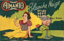 PUZZLE MAGNETIQUE  AIMANTO  Blanche Neige Et Les 7 Nains  WALT DISNEY + LIVRET COLORIAGE - Puzzles