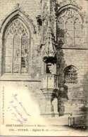 Vitre - Eglise Notre Dame - Chaire Exterieure - Precurseur - Vitre