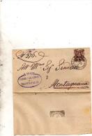 1901  LETTERA CON ANNULLO PIACENZA D�ADIGE PADOVA