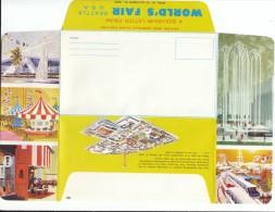 Souvenir Letter, Unused Cover 1962 Seattle World's Fair Exposition - Schmuck-FDC